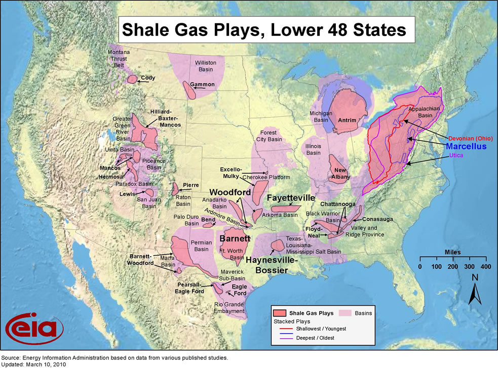 Shale Gas Access Questions State Issues